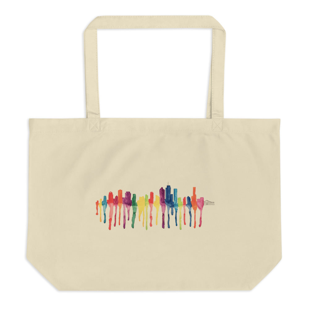 Brisbane Large organic tote bag