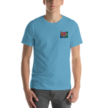 Load image into Gallery viewer, Oregon Multicolor Embroidery t-shirt