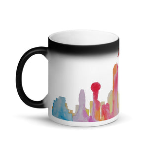 Dallas Texas Color Changing Mug