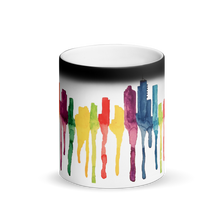 Load image into Gallery viewer, Brisbane Matte Black Magic Mug