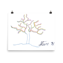 Load image into Gallery viewer, Color Tree by Kelly Waltz Poster