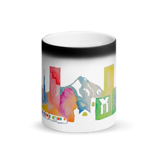 Load image into Gallery viewer, Portland Matte Black Magic Mug
