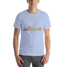 Load image into Gallery viewer, Portland OR Watercolor Short-Sleeve Men's T-Shirt