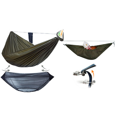 Special Offer-Onewind Single Camping Hammock with Bugnet Tree Straps Ridgeline