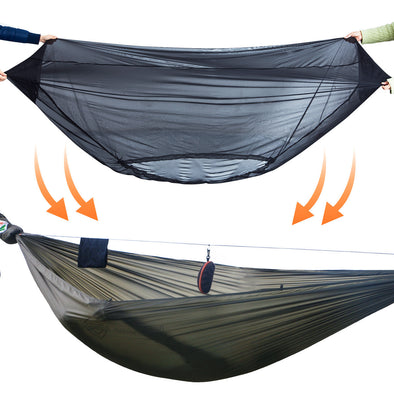 11FT Ultralight Hammock and Bugnet Bundle