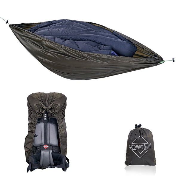 Special Offer-Onewind Backpacking Cover and Gear Hammock