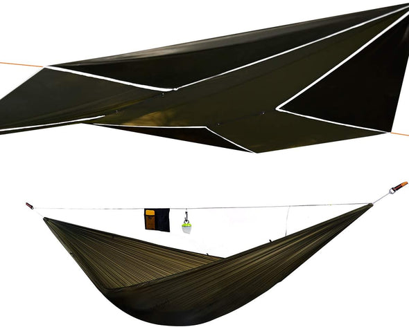 Onewind 11ft Utralight Camping Hammock 12 ft Rainfly Kits Bundle