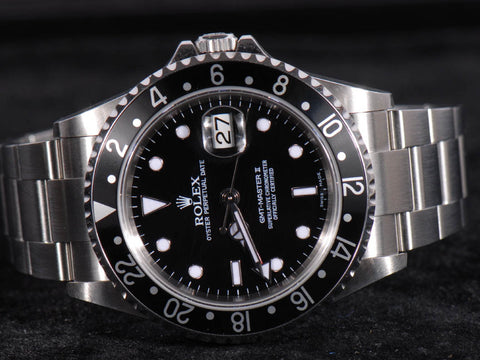 Rolex GMT Ceramic Bezel