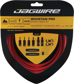 Jagwire Mountain Pro Brake Cable Set Red