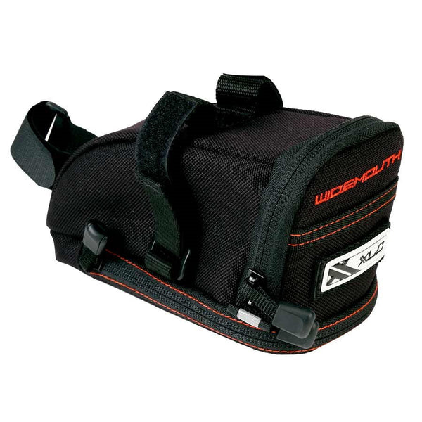 XLC Wide Mouth Seat Bag Black/Orange