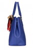 DUDU timeless scarf handbag-blue