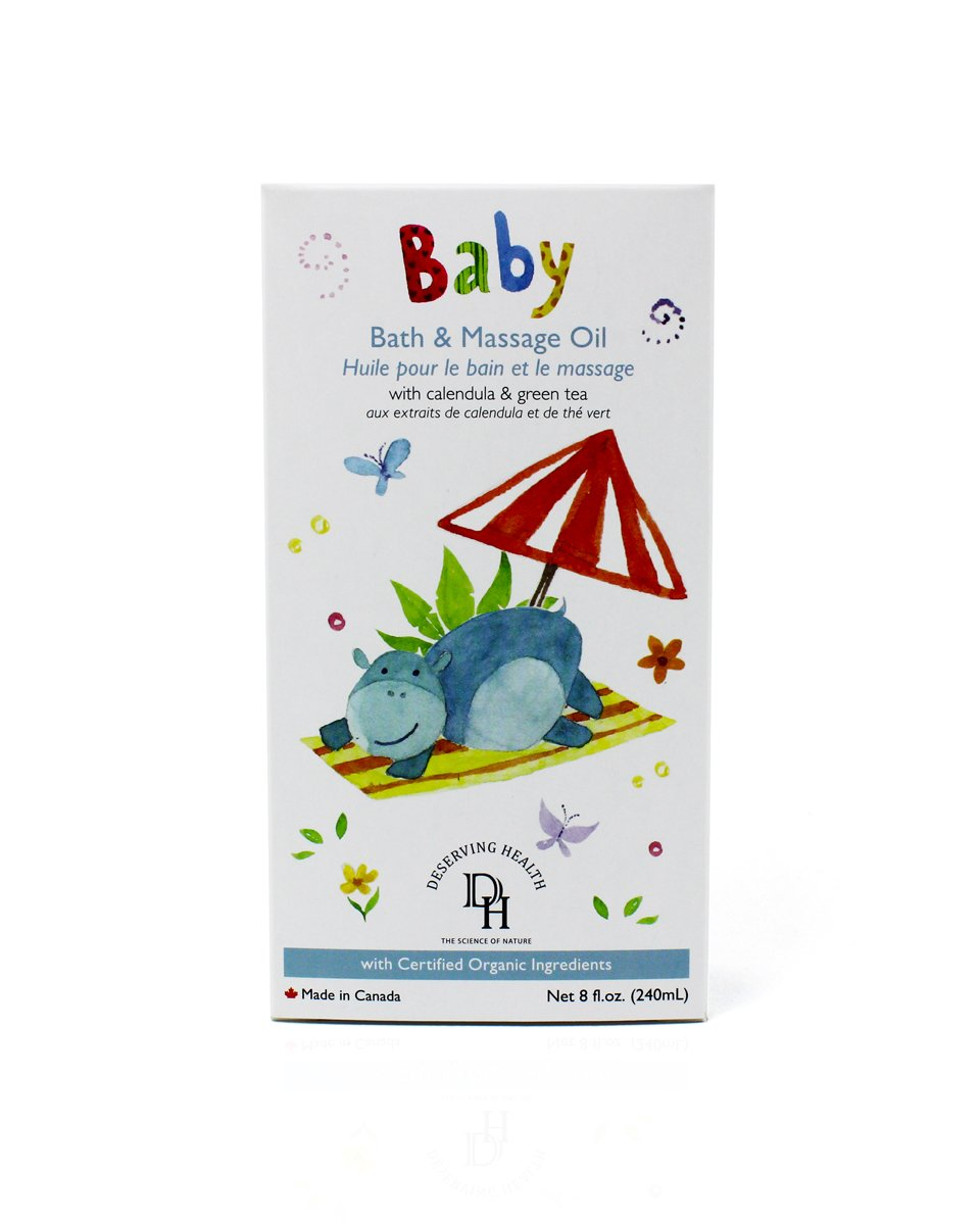 DH Baby & Kids Bath & Massage Oil