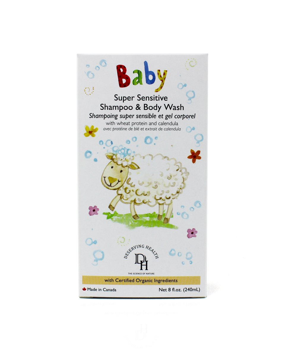 DH Baby & Kids Super Sensitive Shampoo & Body Wash