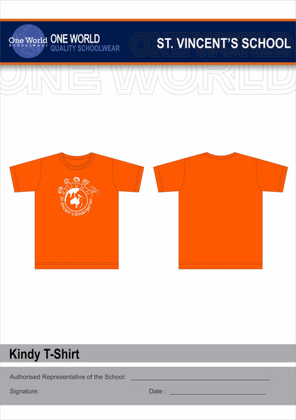 Kindergarten T-Shirt - Orange
