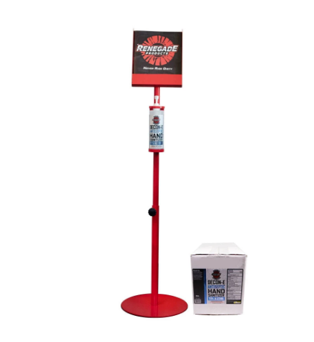 Decon Stand - Sanitizer & Disinfectant Stand