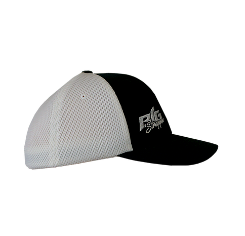 Strappin' Airmesh Flexfit Black/White