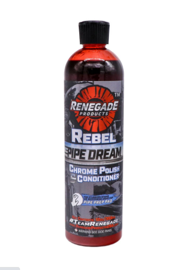 Rebel Pipe Dream Chrome Conditioner and Polish