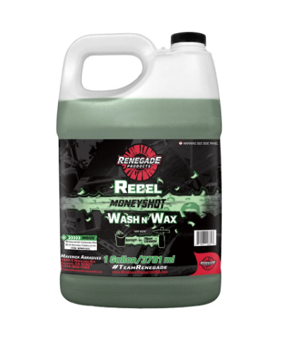 Rebel Moneyshot Wash N' Wax Soap