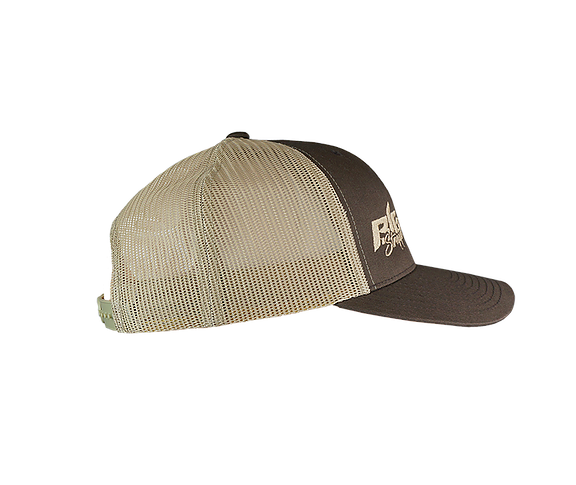 Big Strappin' Trucker Snapback Brown/Khaki