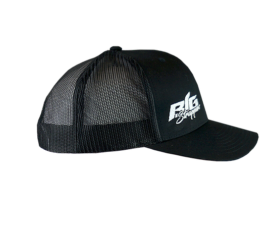 Big Strappin' Trucker Snapback Black