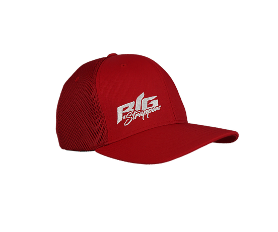 Big Strappin' Airmesh Flexfit Red
