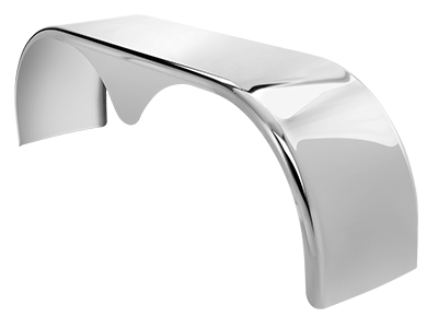 9556T 304 Stainless Steel Tear Drop Tandem Fender