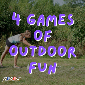 4 Games of Outdoor Fun