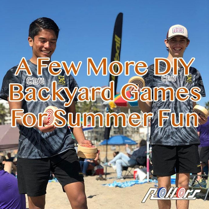 A Few More DIY Backyard Games For Summer Fun