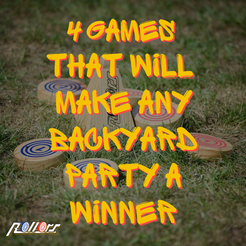 4 Games That Will Make Any Backyard Party A Winner