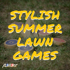 stylish summer lawn games