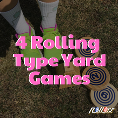 Four Rolling Type Yard Games