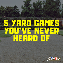 Five Yard Games You've Never Heard Of