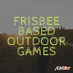 Frisbee Based Outdoor Games