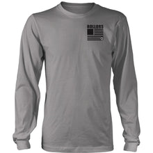 Long Sleeve - Merica - District Long Sleeve Shirt / Grey / S - T-shirt