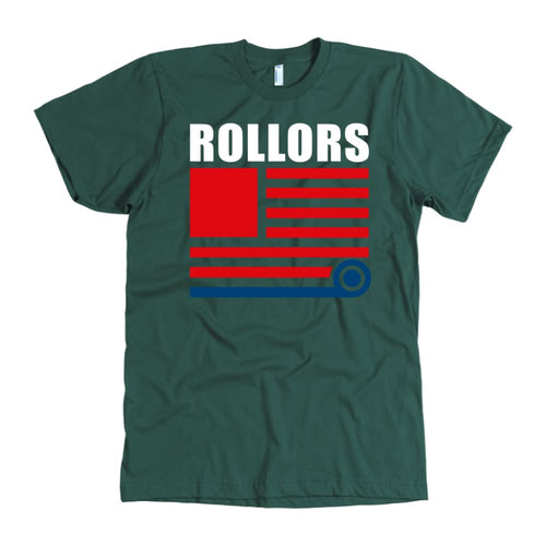Rollors T-Shirt - Merica - American Apparel Mens / Forest / S - T-shirt