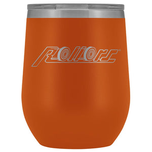 Rollors - Wine Tumbler - Orange - Wine Tumbler