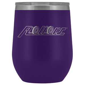 Rollors - Wine Tumbler - Purple - Wine Tumbler