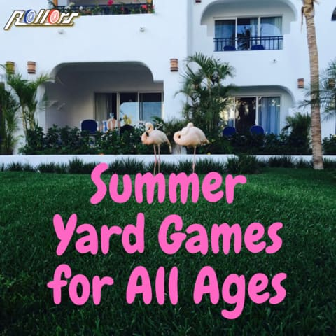 Summer Yard Games for all ages