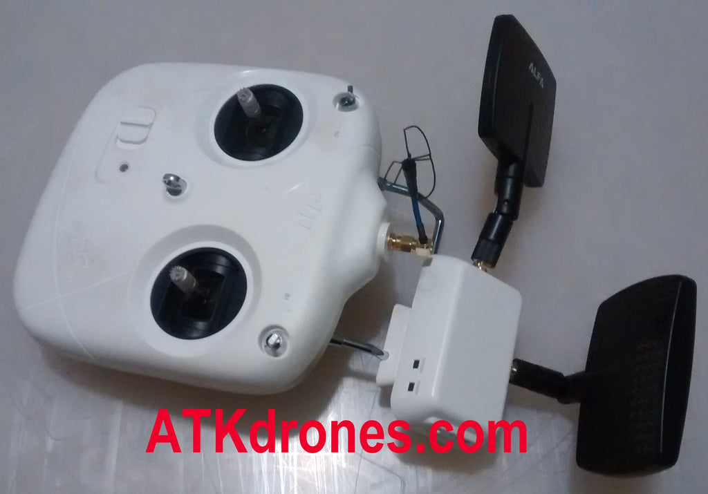 DJI UAV Radio Modifications, Add RP-SMA Connectors for External Antennas Allowing Boosted Signals