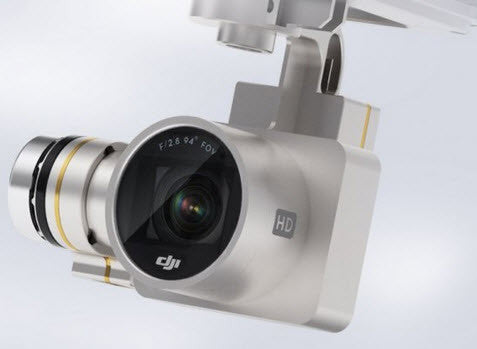 DJI Phantom 3 Advanced HD Replacement Gimbal/Camera  DJI-PH3-P6