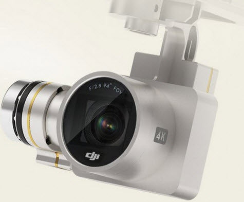 DJI Phantom 3 Professional 4K Replacement Gimbal/Camera  DJI-PH3-P5