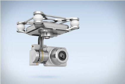 DJI Phantom 2 Vision Plus 3 Axis Replacement Gimbal/Camera