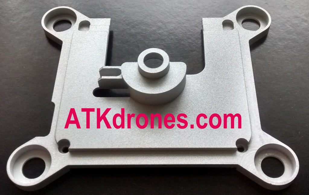 ATK Phantom 3 Gimbal Replacement Base Plate ATK-GBP3 - CNC Milled Solid Aluminum