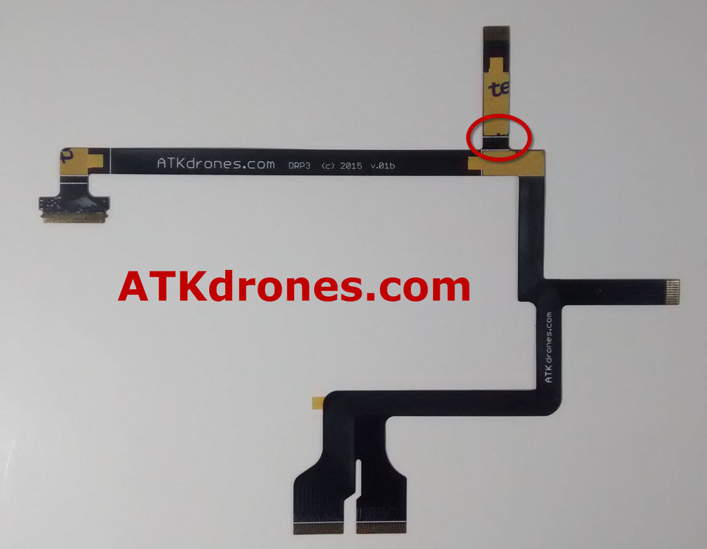 ATK Phantom 3 Flexible Gimbal/Camera Flat Ribbon Cable  Part 49 ATK-DRP3
