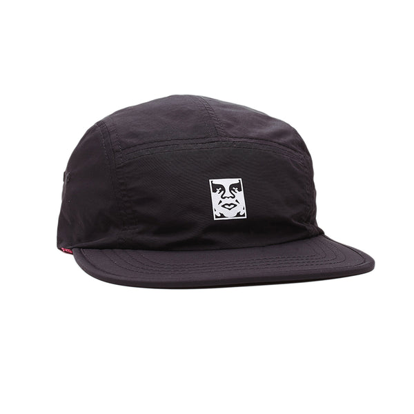 OBEY Icon Reversible 5 Panel Hat (Black)