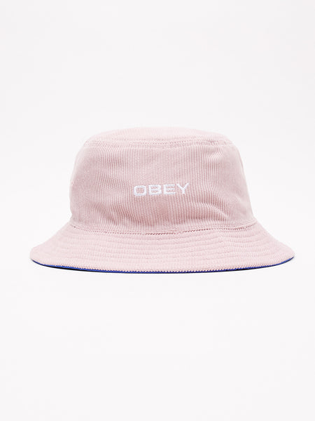OBEY Icon Reversible Bucket Hat (Pink)