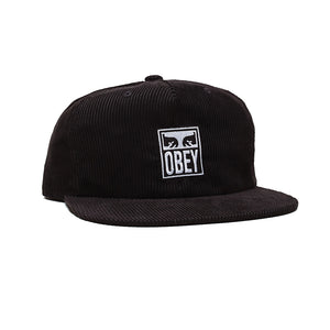 OBEY Vanish Strapback (Black)