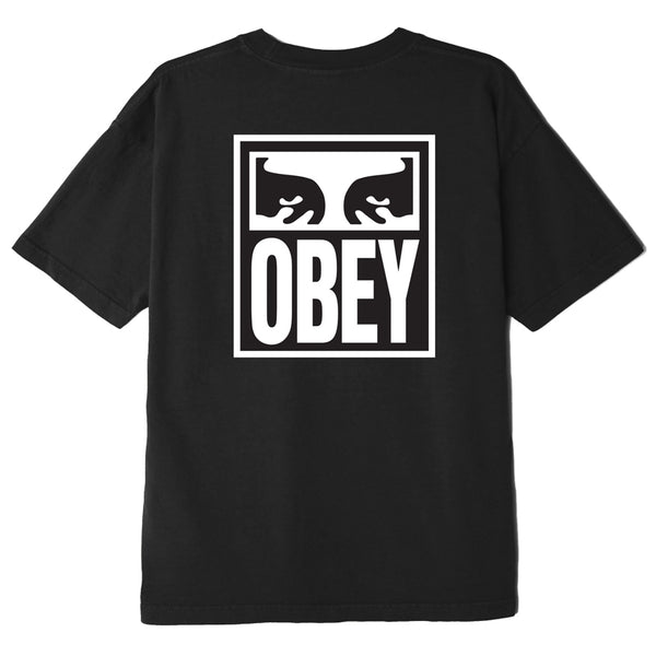 OBEY Eyes Icon 2 Heavyweight Box Tee (Black)