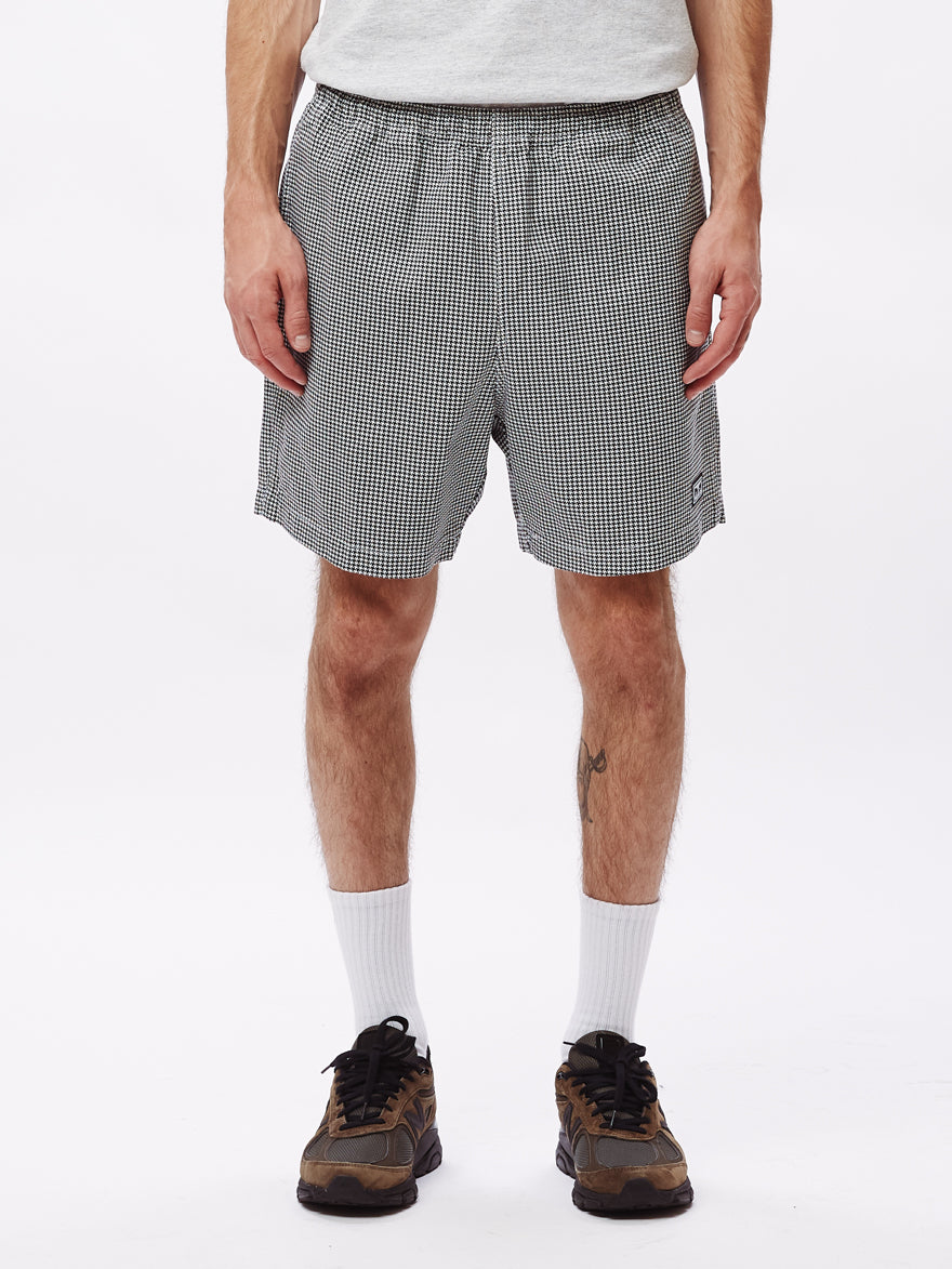 OBEY Easy Relax Twill Shorts (White Multi)