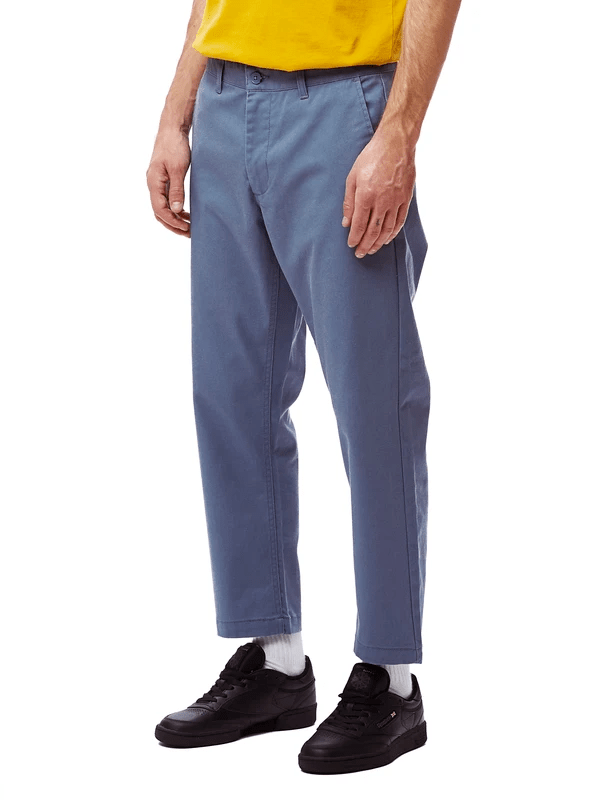 Straggler Flooded Pants (Dull Blue)